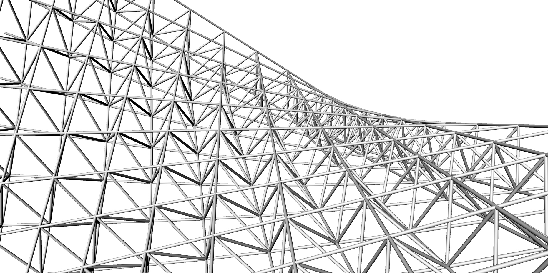 Exercise 1 Space Truss Structure The Proving Ground